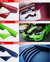 $enCountryForm.capitalKeyWord NZ - 10PCS 127CM*10CM 3D Color Modification Film Car Interior Whole Vehicle Color Change Paste Carbon Fiber Color Change Sticker