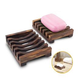 Ingrosso Portasapone in legno naturale fatto a mano Vintage Portasapone in legno Portasapone in legno Lavamani Lavamani 075