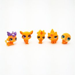 $enCountryForm.capitalKeyWord Australia - Eco-Friendly Saintgi Toy Bag 20pcs  Bag Random Little Pet Shop Lps Toys Animal Cartoon Cat Dog Action Figures Collection Kids Toys Gift