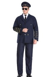 $enCountryForm.capitalKeyWord UK - Hot One size plane Captain Firefighter rolepaly policeman uniform Theme costume cop bobby halloween cosplay one set coats pants handcuffs