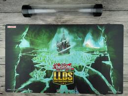 Hidden toy online shopping - YuGiOh LLDS The Hidden City Cusom Playmat TCG Mat Free high quality Tube