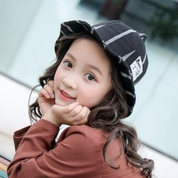 bcc488a4a82 Childrens autumn hats new fishermans cap baby cloth with a large pointed basin  cap male and female children summer shade