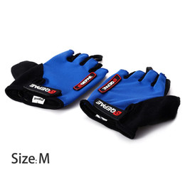 Gloves bicycle Gel online shopping - 2PCS M Size Cycling Bike Bicycle Gel Silicone Half Finger Ultra breathable Gloves specially for sports lovers
