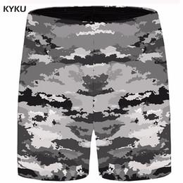 $enCountryForm.capitalKeyWord Australia - KYKU Painting Short Men Space Beach Cargo Shorts Gray Big Size Casual Shorts Cool Mens Short 2018 New Male Summer High Quality