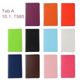 Mini Tablet Folio NZ - case for Samsung T820 9.7 inches inch Luxury leather case tablet holster cover foldable stand tablet case for TAB S3 T820 T825