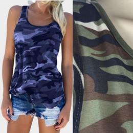 bdac262ac Explosion models women s summer new camouflage fashion wild sleeveless vest  T-shirt basketball jerseys belt designer belt jacket rosa clara