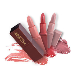 $enCountryForm.capitalKeyWord NZ - Miss Rose Matte Lipstick Waterproof Nutritious Easy to Wear Lipstick Long Lasting Lips Makeup 8 colors