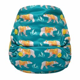 $enCountryForm.capitalKeyWord UK - Hey Polar Bear!JinoBaby Newborn Cloth Diaper - One Size AIO Bamboo Care for Babies