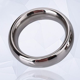 $enCountryForm.capitalKeyWord Australia - 40 45 50mm Stainless Steel Penis Delay Training Ring Sex Toy for Men Cock Delay Ejaculation Time Ring Foreskin Resistance Ring Y1892903
