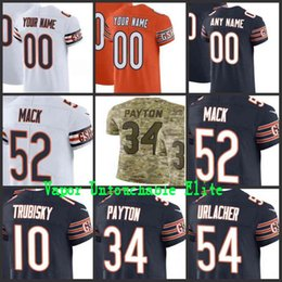 Mens Chicago Khalil Mack Mitchell Trubisky Walter Payton Roquan Smith Bear  Vapor Elite Camo Salute to Service limited jersey stitched 0e3cf67dc