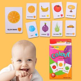 Notebook paper kids online shopping - Children Recognition Color Animal Shape Card Early Childhood Educational Toy Teaching Card Early Learning Card for Kids gifts