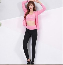 $enCountryForm.capitalKeyWord Canada - 2018 New Five-Piece Yoga Suit Outdoor Sports Suit Women's Fashion Slim Body Breathable Fitness Suit 2 Colors