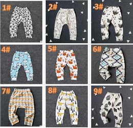 9ab8529f765bf 26 Design kids INS Lemon pp pants baby toddlers 2016 boys girls fox lemon  tent feather geometric figure fruit trousers Leggings