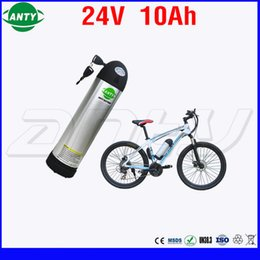 $enCountryForm.capitalKeyWord NZ - Water Bottle Style Electric Bicycle Battery 24v 10Ah 350w with 2A Charger Built in 15A BMS Lithium Battery 24v Free Shipping