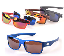 Wholesale Brand summer men Bicycle Glass driving sunglasses cycling glasses women and man nice glasses goggles colors A