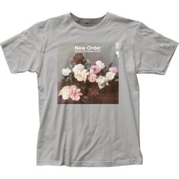 Authentic Flowers Australia - Authentic New Order Ceremony Power Corruption & Lies Flower T-shirt S M L X 2X