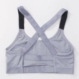 6b25e04d80394 Hot Pink Letter Bra Running Sports Shirts Yoga Gym Vest Push Up Fitness Tops  Sexy Underwear Lady Crop Tops Shakeproof Adjustable Strap Bra
