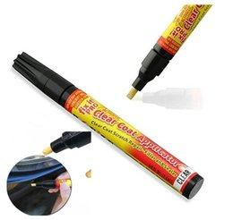 Nuevo Portable Fix It Pro Clear Auto Repair Pen Auto Reparación de pintura Pen Scratch Repair Tubo de aluminio ventosa 24g