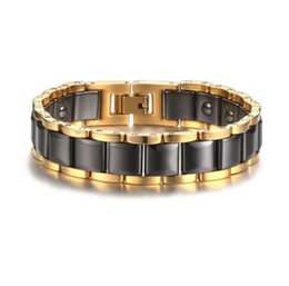 Bracelet Fashion Accessories Tungsten UK - valentine's day gift mixed order stainless steel bracelets ceramic steel bracelet source factory vendor fashion accessories supplier 089