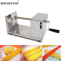 $enCountryForm.capitalKeyWord NZ - wholesale Tornado Potato Cutter Machine Spiral Cutting Machine Chopper Chips Slicer Grinder Kitchen Accessories Cooking Tools