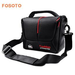 Dslr Cameras Bags Australia - fosoto DSLR Camera Bag Digital photography Photo Video Shoulder Case Cover Nylon Bags For Dslr   D700 D300 D200
