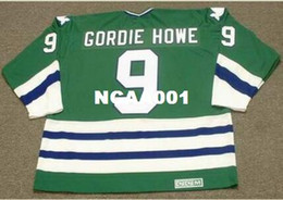 Mens  9 GORDIE HOWE Hartford Whalers 1979 CCM Vintage Home Hockey Jersey or custom  any name or number retro Jersey a0470f9e5