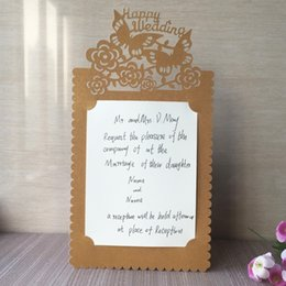 Wedding Party Invitations | Wedding Invitations Kits Cards Dhgate Com