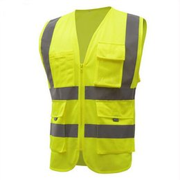 reflective safety vests motorcycle 2019 - Reflective Vest High Quality High Visibility Working Clothes Motorcycle Cycling Running Sport Outdoor Reflective Safety