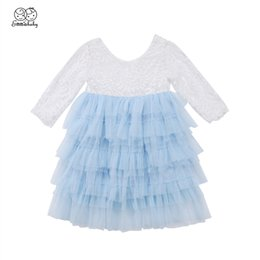 $enCountryForm.capitalKeyWord Australia - New Year Costumes For Girls Baby Girl Ball Gown Lace Tutu Dresses Hot Kid Tulle Dress For Girls Bridesmaid Party Pageant Vestido