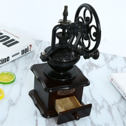 Coffee Beans Grinding NZ - Qihang_top Retro Style Manual Coffee Grinder Home Coffee Bean Mill Grinding Hand Coffee Vintage Maker Price