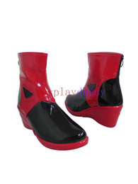 China Anime Guilty Crown Yuzuriha Inori Cosplay Shoes Party Boots suppliers