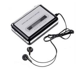 Горячая USB кассета захвата рекордер радио плеер, лента для ПК супер Портативный USB кассета MP3 конвертер LLFA на Распродаже