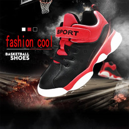 $enCountryForm.capitalKeyWord Canada - Cheap Children Athletic Retro Boys Sneakers Youth Kids Sports Basketball Sneakers winter Shoes warm Non-slip high quality For Sale