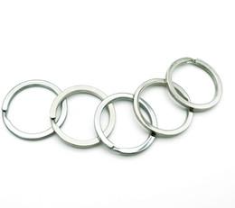 Gold Rings Photos NZ - Epackfree 500pcs Split Key Ring with Chain Split Key Ring with Chain Silver Gold Guqing Color Metal Split Keychain Ring Parts Jump Rings