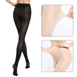 Socks Thigh Highs NZ - Super Elastic Magical Stockings 2018 Women Nylon Pantyhose Sexy Skinny Legs Tights Prevent Hook Silk Collant Medias Girl Thigh High Socks