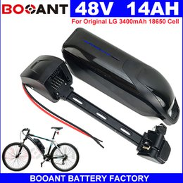 Motor Bicycles Australia - Lithium ion battery 48V 14AH for Original LG 18650 Electric Bicycle battery 48V For Bafang BBSHD BBS02 1200W Motor +2A Charger