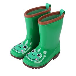 $enCountryForm.capitalKeyWord NZ - 2018 New Rain Boots Kids Antislip Children Shoes Rainboots Boys Girls Shoes Cute Waterproof RainBoots Anti-skid Shoes