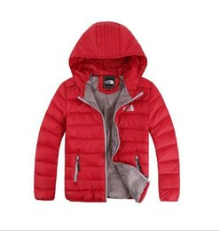 China Best-selling new down jacket winter wear boy and girl hooded leisure jacket new medium and big boy light 120-160cm suppliers