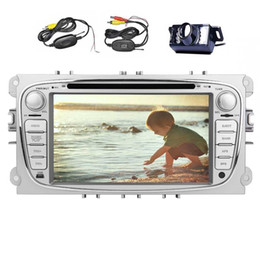 ford car dvd NZ - EinCar Android Car Stereo Quad Core 7'' Touchscreen Double Din Car DVD Player For Ford In Dash GPS Navigation Headunit AM FM Radio