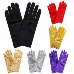 $enCountryForm.capitalKeyWord NZ - Bridal Wedding Full Finger Banquet Opera Women Short Gloves Fashion Wrist Length Short Gloves Bridal Accessories