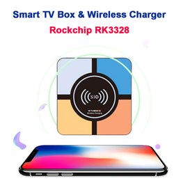 $enCountryForm.capitalKeyWord NZ - S10 Plus Android 8.1 TV BOX With Wireless Fast Charger 4GB 32GB Rockchip RK3328 Quad Core H.265 4K USB3.0 Streaming Smart IPTV Media Player