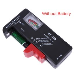 Power Pointer Australia - BT-168 BT168 Universal Button Battery Checker Tester AA AAA C D 9V Checks Power Level of All 1.5V 9V Battery Volt Meter