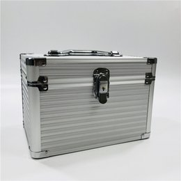 $enCountryForm.capitalKeyWord NZ - Fashion Aluminum Storage Box Beauty Case For Cosmetics, Large capacity Cosmetic Bag For Make Up,Girl's Gift Jewelry Storage Box