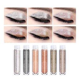 Makeup Hengfang Out Of The Eye Shadow Liquid Color Shining Diamond Liquid Water Eye Shadow Light Waterproofing Beauty & Health Eye Shadow