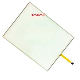 Discount touch screen small - 15 inch 4-wire resistance small mouth touch screen PMMA high hardness shatterproof four-wire touch screen 15 325x250