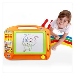 100% Quality 1pcs Children Doodle Stencil Writing Painting Magnetic Drawing Board Set For Kids Learning & Education Toys Hobbies Notebooks & Writing Pads
