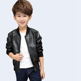 3f5e3b0ff Kid Leather Zipper Jacket Online Shopping