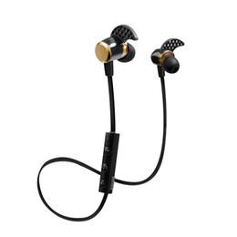 Wireless Headphones Mic Blue Australia - Kin-88 for samsung headphones 4.1 Deep Bass headphones Wireless in Ear Metal Sport Music bluetooth headphones with Mic