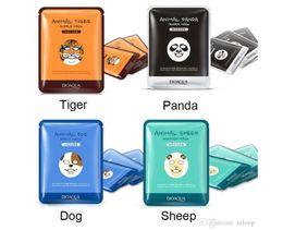 Sheep maSkS online shopping - Original BIOAQUA Animal Face Mask Tiger Panda Sheep Dog Shape Moisturizing Hydrating Nourishing Facial Mask g