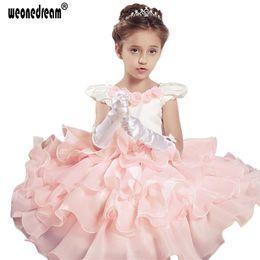 $enCountryForm.capitalKeyWord NZ - WEONEDREAM 2017 New Girls Dress Children Pageant Princess Flower Kids Dresses For Girls Formal Wedding Party Christening Gown